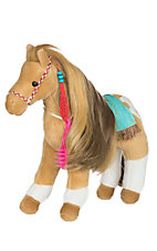 Douglas Tribal Princess Stuffed Horse with Brush