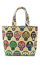 Consuela Sugar Skulls Lunch Tote