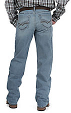 Cinch Men's Dark Wash Grant Mid Rise Relaxed Fit Boot Cut Jean 72337001