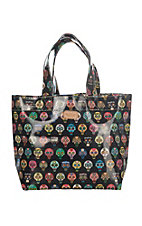 Consuela Grab N Go Basic Mini Tiny Skulls Tote