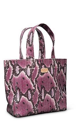Consuela Aurora Pink Snake Grab N Go Mini Bag