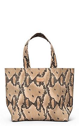 Consuela Margot Brown Snake Grab N Go Mini Bag