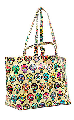 Consuela Legacy Sugar Skulls Jumbo Bag