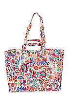 Consuela Legacy White Swirly Jumbo Bag