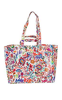 Consuela Legacy White Swirly Jumbo Bag