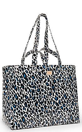 Consuela Lola Leopard Print Jumbo Grab N Go Bag