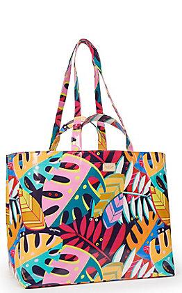 Consuela Maya Palm Print Jumbo Grab N Go Bag