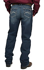 Cinch Men's Medium Stonewash Grant Mid Rise Relaxed Fit Boot Cut Jean 77737001