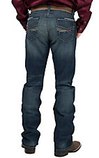 Cinch Men's Medium Stonewash Ian Mid Rise Slim Fit Boot Cut Jean 77936001