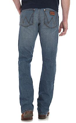 Wrangler Men's Atlanta Slim Boot Jeans - Big & Tall