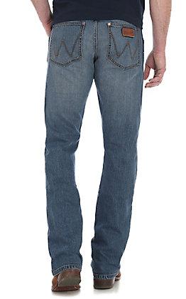 Wrangler Men's Atlanta Slim Boot Jeans