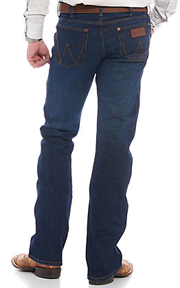 Wrangler Retro Men's Bryson Dark Wash Slim Fit Bootcut Jean