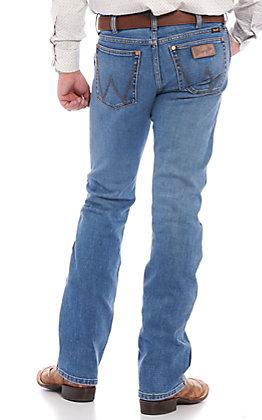 Wrangler Retro Men's Crofton Slim Fit Bootcut Jeans