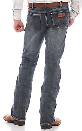 Wrangler Retro Men's Gunter Slim Fit Bootcut Jeans