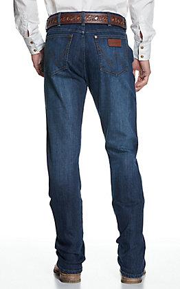 Wrangler Retro Men's Medium Wash Slim Fit Boot Cut Jeans - Cavender's Exclusive