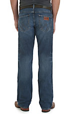 Wrangler Retro Men's Medium Wash Slim Boot Cut Jeans