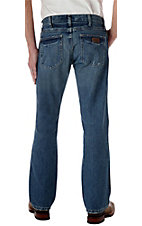 Wrangler Premium Patch Worn-In Slim Fit Jeans- Tall Length