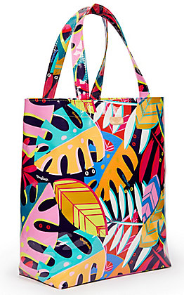 Consuela Maya Palm Print Basic Grab N Go Bag
