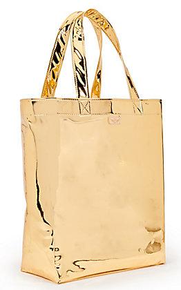 Consuela Goldie Gold Metallic Basic Grab N Go Bag