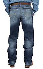 Cinch Men's Medium Stonewash Grant Mid Rise Relaxed Fit Boot Cut Jean 78437001