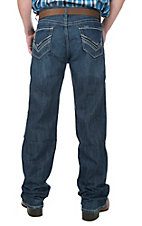 Cinch Men's Medium-Dark Wash Mid Rise Relaxed Boot Cut Jeans