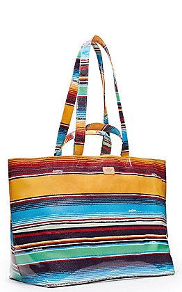 Consuela Deanna Serape Print Jumbo Grab N Go Bag