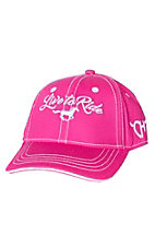 Cowgirl Hardware Girls Pink Live to Ride Cap