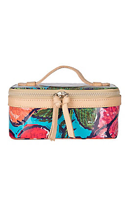 Consuela Rosie Floral Mini Train Case