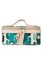 Consuela Spike Cactus Print Mini Train Case