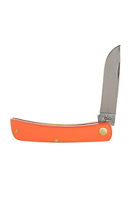 Case Knives Smooth Orange Synthetic Sod Buster Jr.