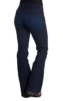Cinch Women's Lynden Moderate Rise Slim Trouser Jeans