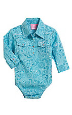 Cowgirl Hardware Infants Retro Bandana Paisley Onesie