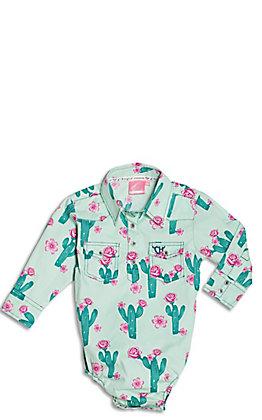 Wrangler Girls//Toddler Long Live Cowgirls Mauve w//Navy Paisley Horse T-Shirt