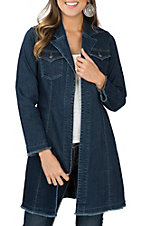 Ethyl Women's Denim Duster Jacket