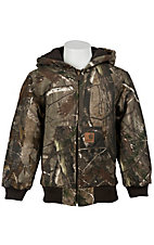 Carhartt Boys' Work Camo Active Jacket Sizes M-XL