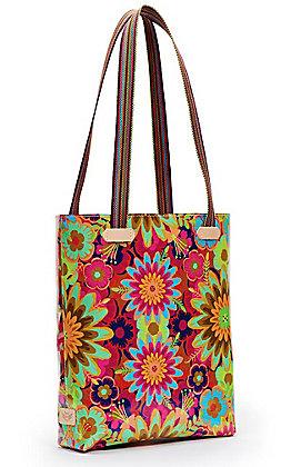 Consuela Trista Multi Floral Print Everyday Tote
