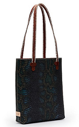 Consuela Rattler Snake Print Everyday Tote