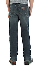 Wrangler Retro Boys Jerome Slim Straight Leg Jeans (8-18)