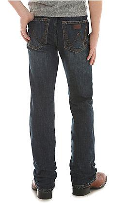 Wrangler Boy's 88 Retro Oldham Slim Straight Jeans