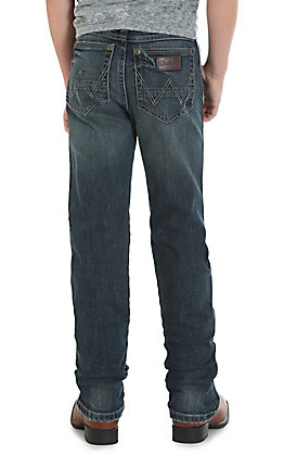 Wrangler Retro Boys Jerome Slim Straight Jeans 4-7