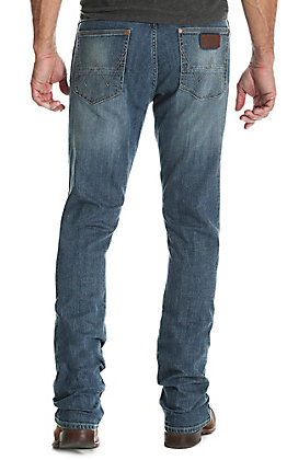 Wrangler Retro Men's Aberdeen Slim Straight Stretch Jeans