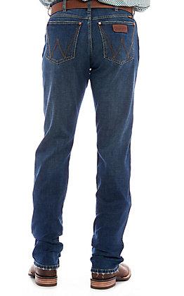 Wrangler Retro Men's Medium Wash Button Fly Jeans