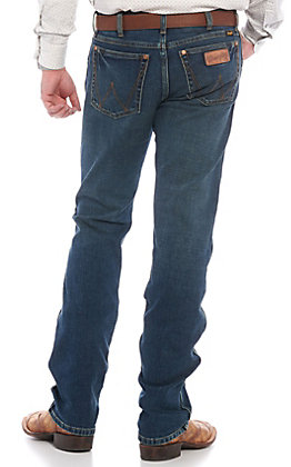 Wrangler Retro Men's Krum Slim Fit Straight Leg Jeans