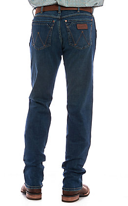 Wrangler Retro Men's Portland Dark Wash Slim Fit Straight Leg Jean