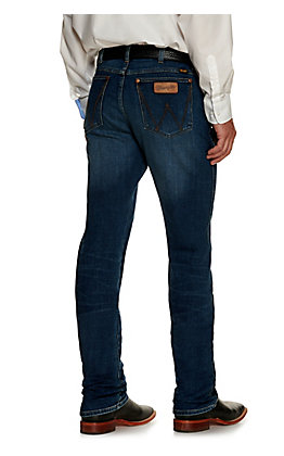 Wrangler Retro Men's Pedernales Falls Medium Wash Slim Fit Straight Leg Jean