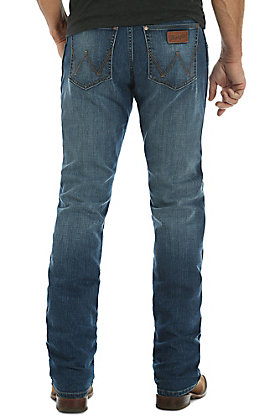 Wrangler Retro Men's Red River Slim Straight Jeans