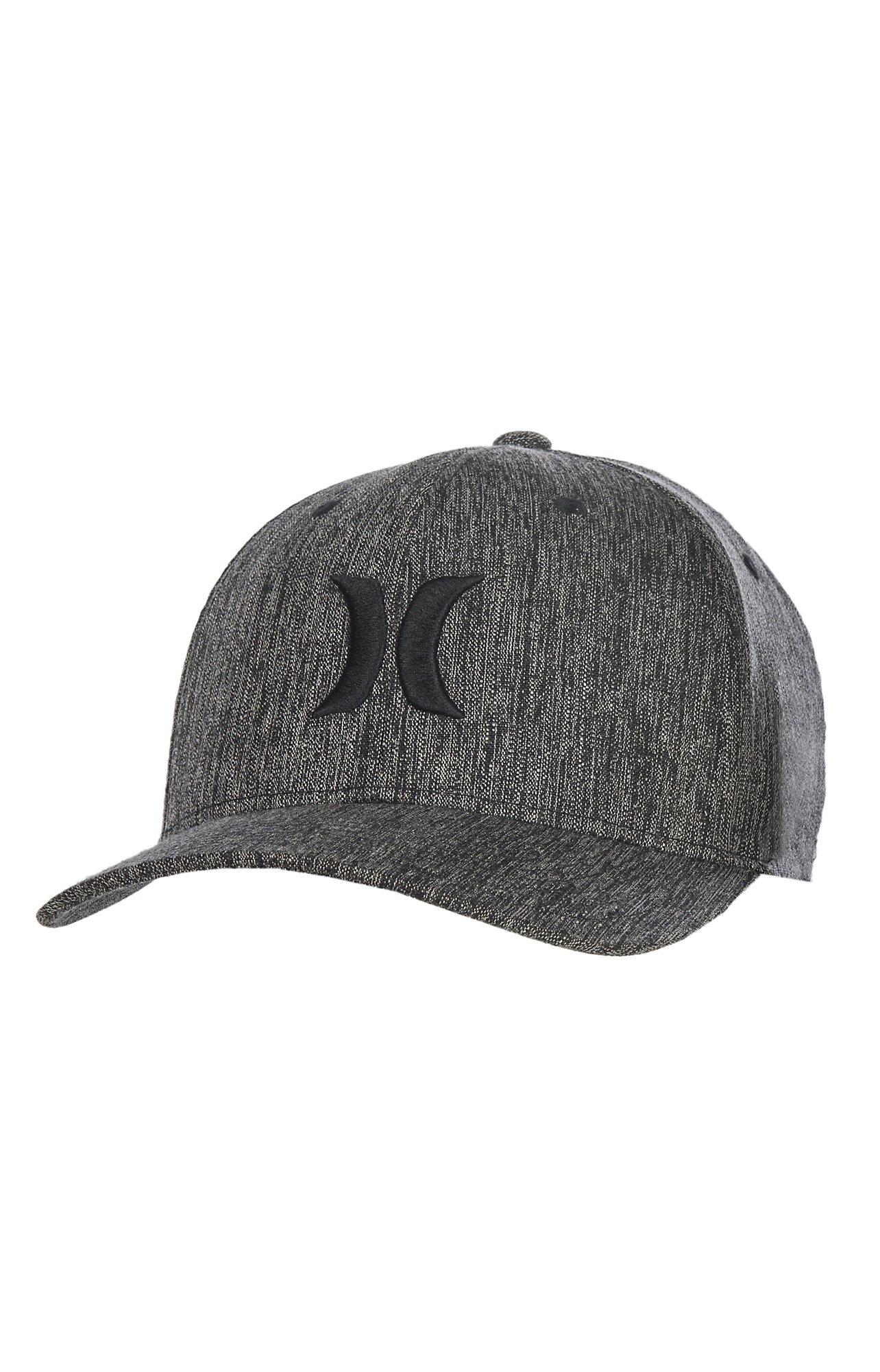 Hurley Dri-Fit One and Only Black FlexFit Cap  58e6776fbe1