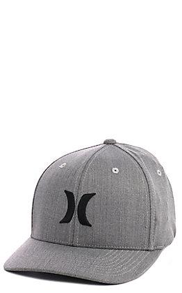 Hurley Grey Logo Cap