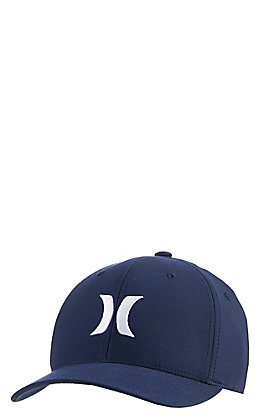 eb9d63da0e652 Hurley Men s Navy with White Logo Dri-Fit Cap