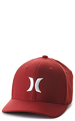Hurley One & Only Red and White Dri-FIT Cap